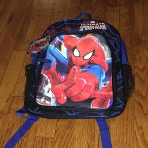 NWT Spider-Man backpack/book bag